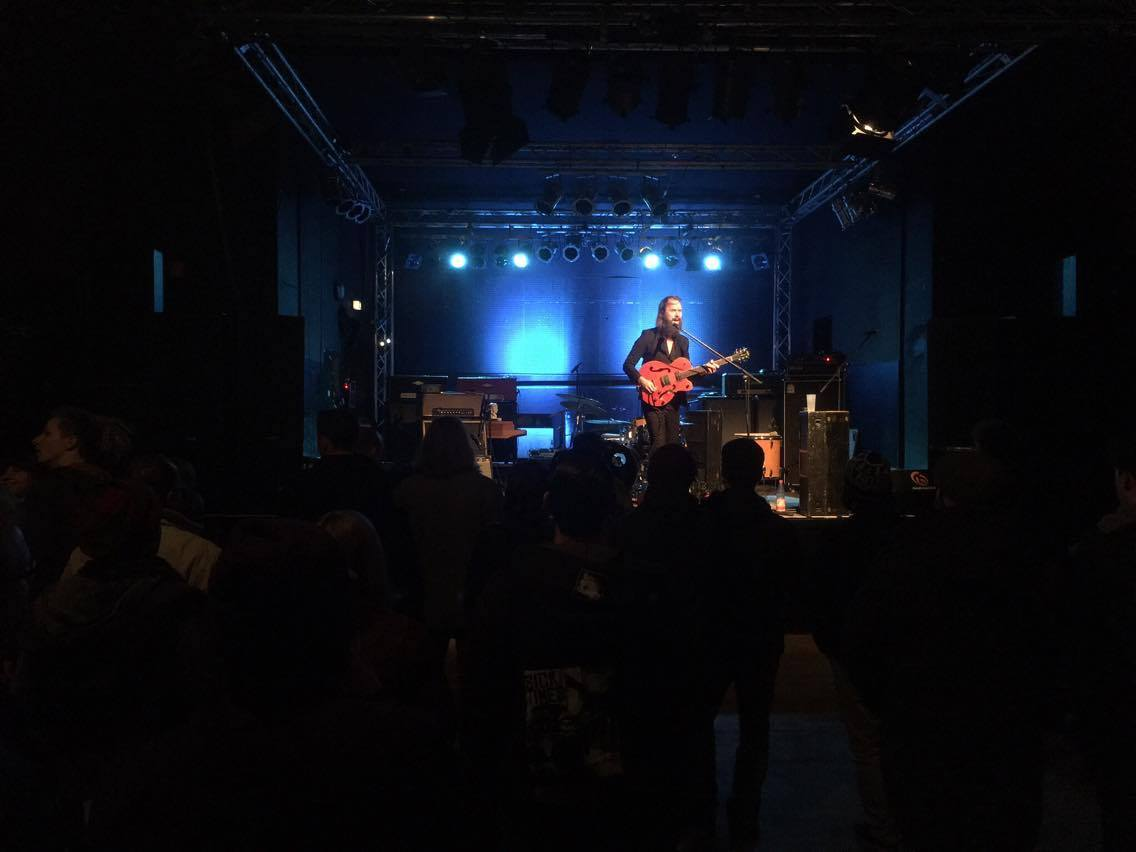 Brother Grimm live at AJZ Talschock, Chemnitz 04.12.2016 with Coogans Bluff, Mother Engine & Dyse pic: Phil Fader