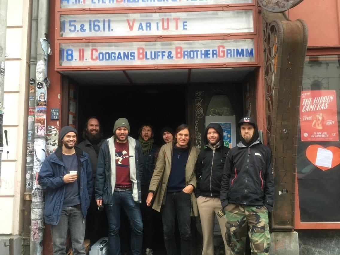 Abhaynsen.. Brother Grimm UT Connewitz, Leipzig 18.11.2016 with Coogans Bluff pic: Arne Gesemann
